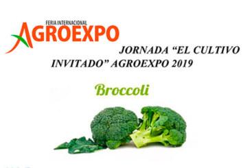 Del 23 de enero al 26 de enero. Jornada 'El Cultivo invitado' Agroexpo 2019
