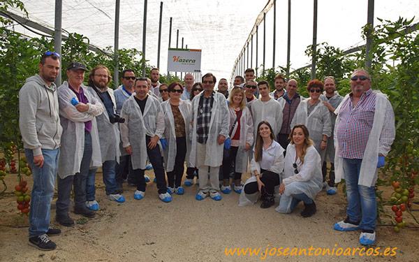 Jornada de tomate de Hazera en Níjar.