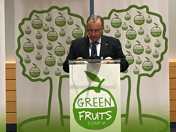 Presidente de Green Fruits, Francisco Gilabert