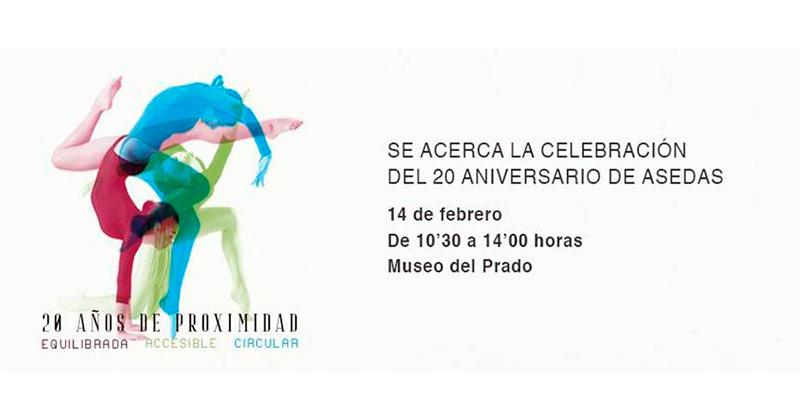 Día 14 de febrero. Celebración del 20 aniversario de ASEDAS