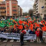 Miles de almas claman en Extremadura por unos precios justos