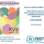 Día 10 de enero. Presentación nueva edición Portagrano XVII