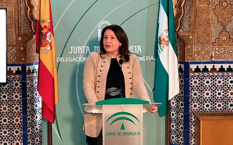 La abderitana Carmen Crespo se estrena en Almería como consejera de Agricultura