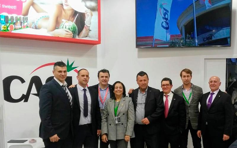 Cooperativa CASI en Fruit Logística 2019.