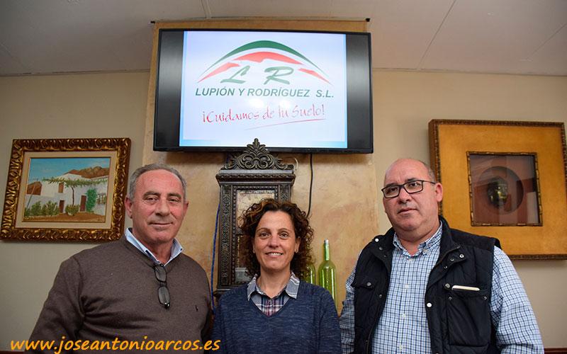José Manuel Rodríguez, Manoli Joya y Salvador Lupión.