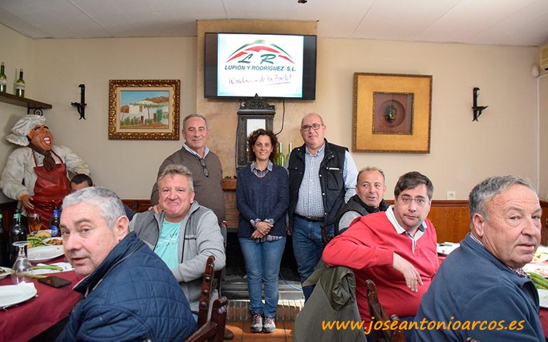 Jornada de Lupión y Rodríguez con agricultores en Berja.