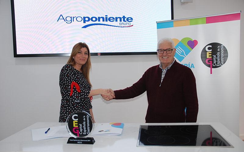 Agroponiente se adhiere a los '3 Tenedores' de Almería Capital Gastronómica