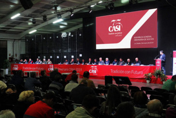 Los números de CASI: 218 millones de kilos y 232 € millones