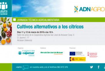 Días 11 y 12 de marzo. Cultivos alternativos a los cítricos