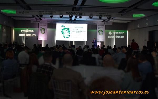 Eco Forum de Zeraim y Syngenta. Pimiento ecológico.