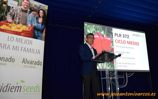 Eduardo Gómez, director de investigación y desarrollo de Meridiem Seeds