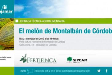 Día 21 de marzo. El melón de Montalbán de Córdoba