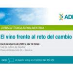 Día 6 de marzo. El vino frente al reto del cambio climático. Valencia