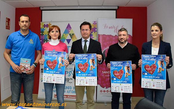 I Runner Fashion Carrera Azul por el Autismo Almería.