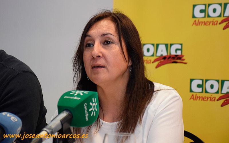 Inmaculada Idañez, responsable del Área de Igualdad de Coag Andalucía.