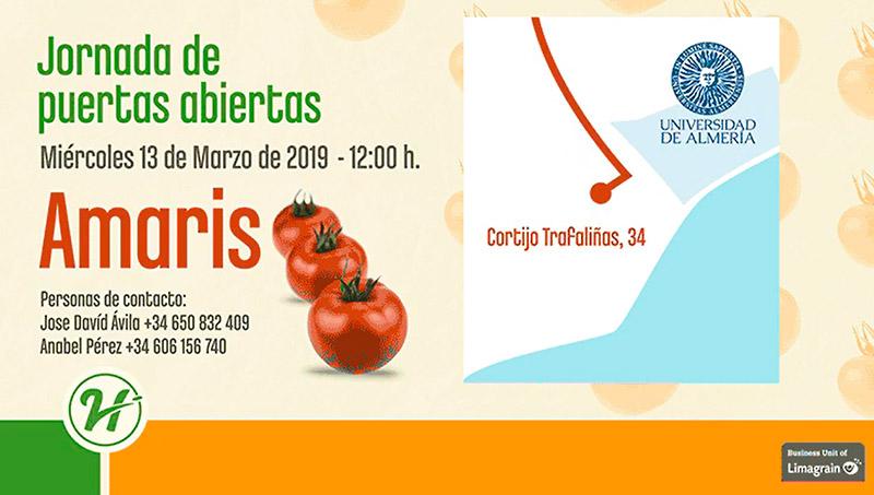 Día 13 de marzo. Jornada de tomate de Hazera