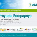 Día 29 de marzo. Proyecto EUROPAPAYA. Almería