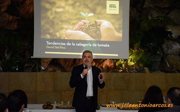 David del Pino, consultor agroalimentario.