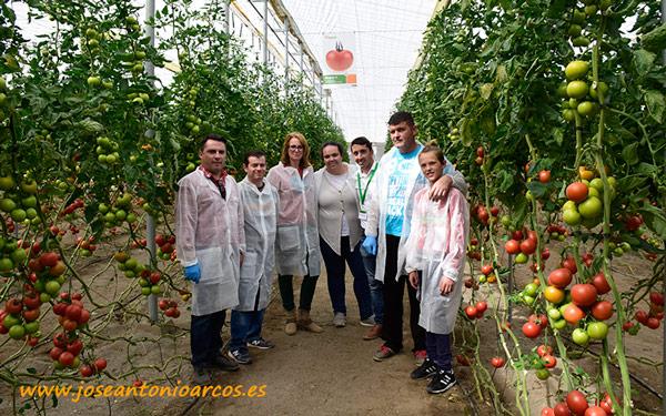 Agricultores en las jornadas de tomate Amaris de Hazera.