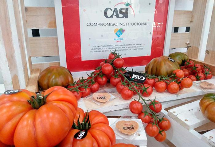Tomates de la cooperativa CASI.