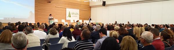 Asamblea ordinaria de Asaja Almería.