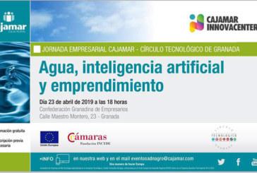Día 23 de abril. Agua, inteligencia artificial y emprendimiento. Granada