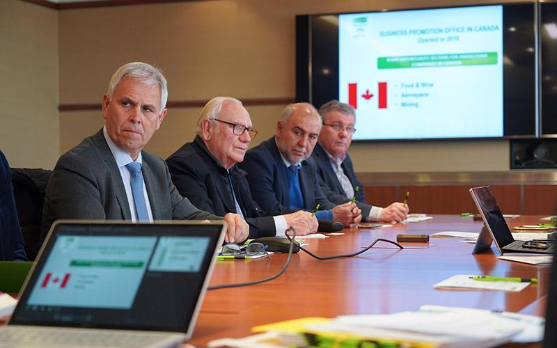 Canadá recibe a Vicasol, El Grupo, DCoop, Ovipor, San Sebastián y San Dionisio