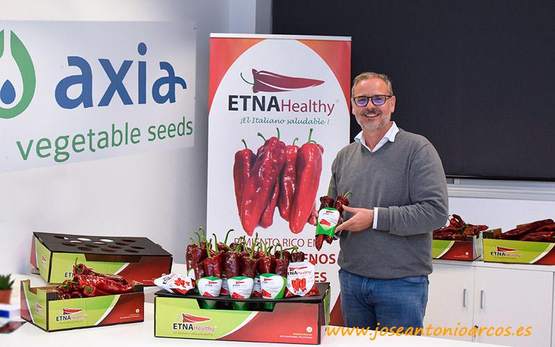 Francisco Bermúdez, gerente de Axia Semillas en Almería. - joseantonioarcos.es