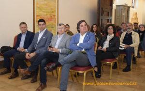 Representantes de Ecovalia, Keops Agro y Carrefour. /joseantonioarcos.es
