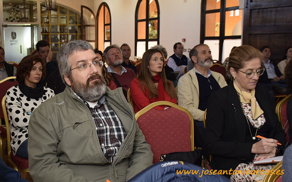 Jornada de epigenética y agricultura ecológica de Keops en Huelva. /joseantonioarcos.es
