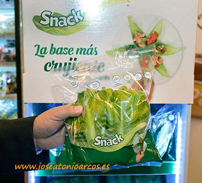 Lechuga snack de Rijk Zwaan. /joseantonioarcos.es