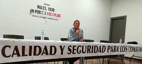 Paco Berenguer, presidente de Agricultura Viva en Acción (AVA).