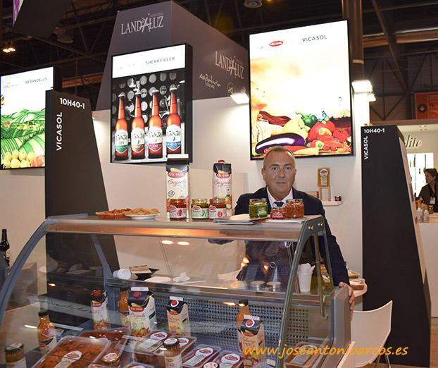 Vicasol en el Salón de Gourmets de Madrid. /joseantonioarcos.es