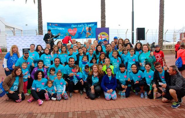 El colegio mas azul fue para CEIP San Luis, carrera azul por el autismo - joseantonioarcos.es