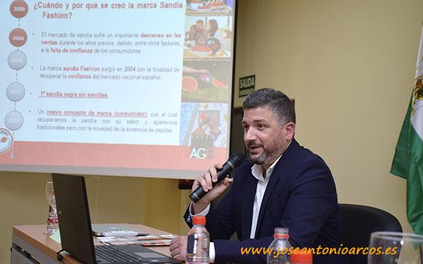Joaquín Hidalgo, coordinador grupo AGF. /joseantonioarcos.es