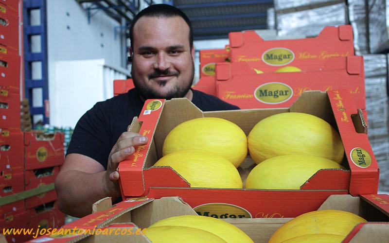 Antonio Maleno, jefe de almacén en MAGAR. /joseantonioarcos.es