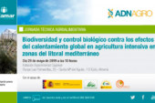 Día 29 de mayo. Jornada sobre biodiversidad y control biológico en agricultura intensiva