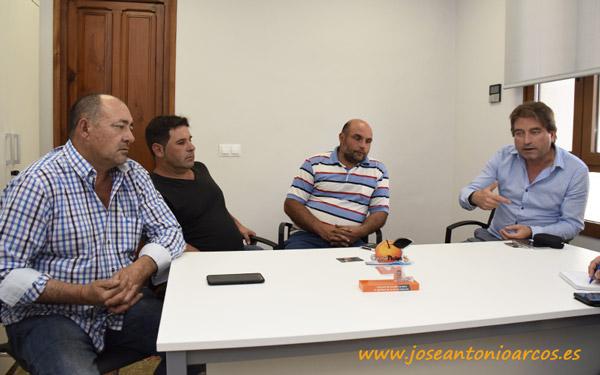 Leonardo Esteve, Vicente García, Adán Carrilero y César Estañol. /joseantonioarcos.es