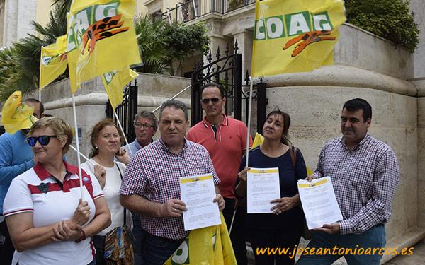COAG Almería pide al Ministerio corregir la no rebaja fiscal - joseantonioarcos.es