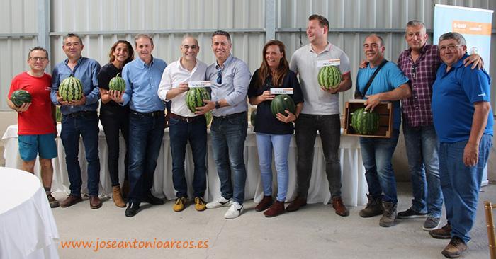 Representantes de Koppert, técnicos de Nature Choice y miembros de Nunhems. /joseantonioarcos.es