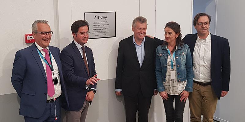 Inauguración oficial de Bioline Iberia.