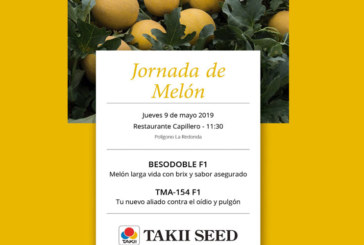 Día 9 de mayo. Jornada de melón de Takii Seed