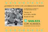 Día 24 de mayo. Photocall con los hermanos Torres y Sakata