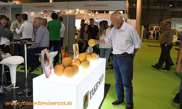 Melón galia de Takii Seed en InfoAgro Exhibition 2019.  /joseantonioarcos.es