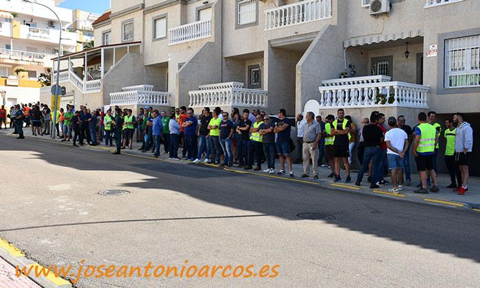 Movilización de agricultores en InfoAgro. /joseantonioarcos.es
