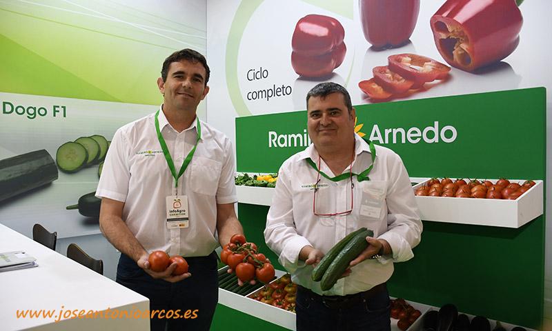 En tomate, Ramiro Arnedo sigue con sus potentes variedades: Romancero y Macizo -joseantonioarcos.es