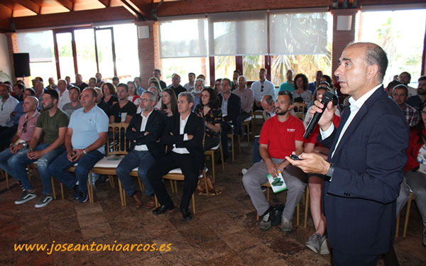 Miguel Ángel Jiménez, Account Manager de Pepino de Nunhems. /joseantonioarcos.es