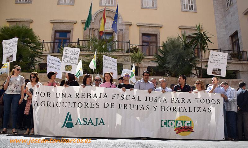 Agricultores almerienses piden rebaja fiscal para la renta de 2018. /joseantonioarcos.es