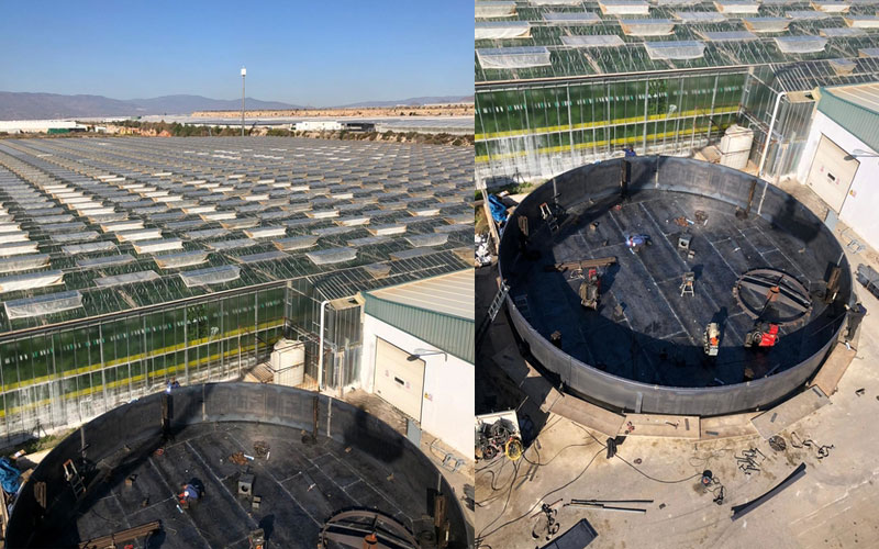 SDC instala sistemas de acumulación térmica en Luis Andújar