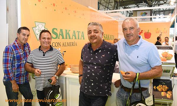 Sakata y los hermanos Torres en Infoagro Exhibition - joseantonioarcos.es